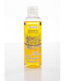Масло КУНЖУТНОЕ Seasame Oil Gold Pressed Organic нерафинированное, органик, 100 ml