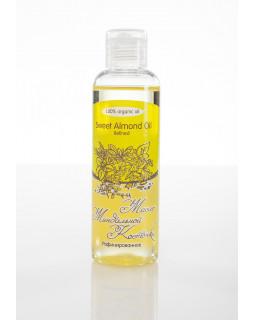 Масло МИНДАЛЬНОЙ КОСТОЧКИ Sweet Almond Oil Refined рафинированное, 100 ml