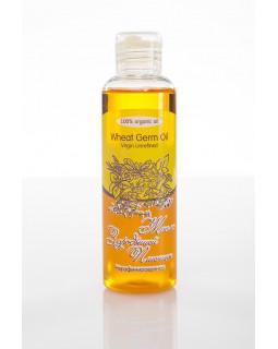 Масло ЗАРОДЫШЕЙ ПШЕНИЦЫ Wheat Germ Oil Virgin Unrefined нерафинированное, 100 ml