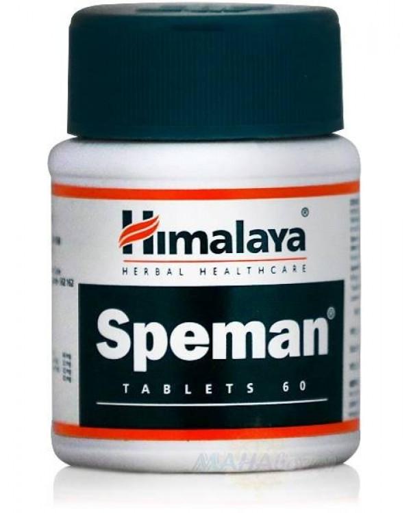 Спеман для мужского здоровья, 60 таб, производитель Хималая; Speman, 60 tabs, Himalaya Тюмень купить на Омило.ру цена 390.0000