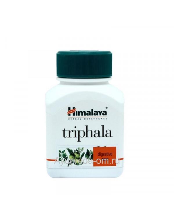 Трифала «Triphala», Himalaya (Трифала Гималая) 60 капсул/таблеток, Индия Тюмень купить на Омило.ру цена 400.0000