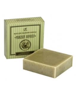 Мыло для умывания и бритья «с зеленой глиной и маслом можжевельника»