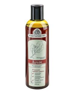 Безсульфатный растительный шампунь «Дубок» для жирных волос