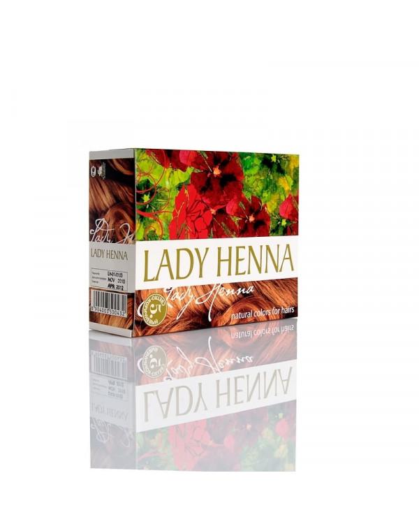 Краска для волос на основе хны Светло-коричневая Тюмень купить на Омило.ру цена 440.0000