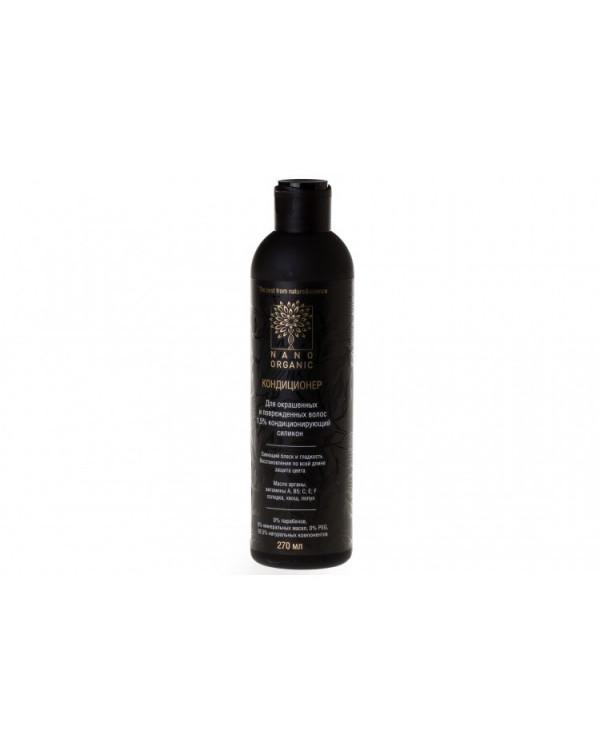 Кондиционер для окрашенных и поврежденных волос Nano Organic