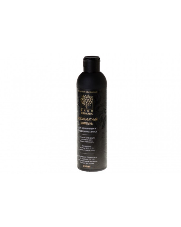 Безсульфатный шампунь для окрашенных и поврежденных волос Nano Organic Тюмень купить на Омило.ру цена 340.0000